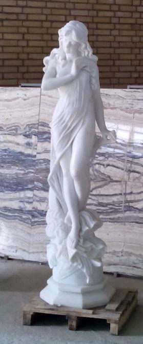 مجسمه سنگی طرح فرشته شماره 3